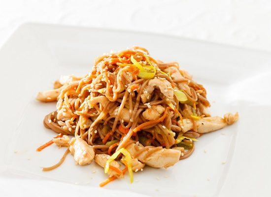 Paleo Chicken Chow Mein