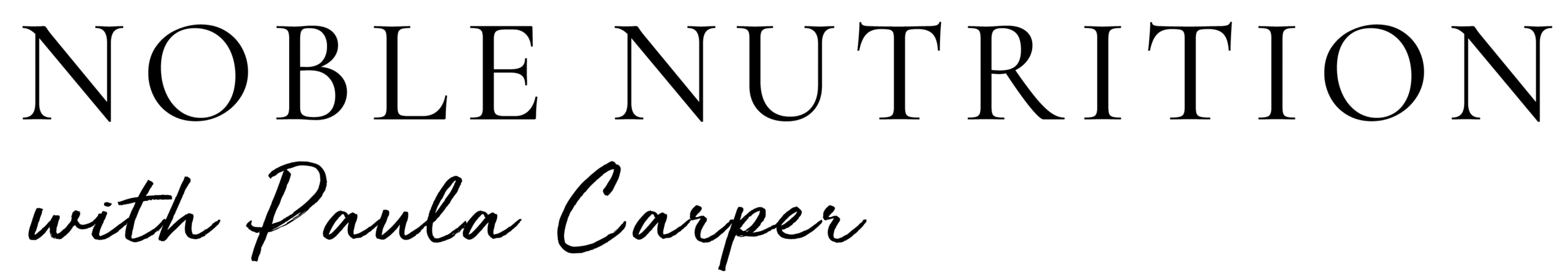 noble nutrition logo